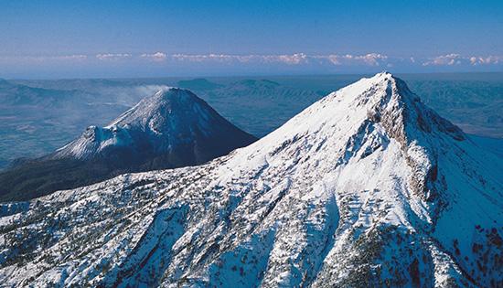 """""""Cumbres Nevadas en México"""" cumbres nevadas mexico nevado colima"""