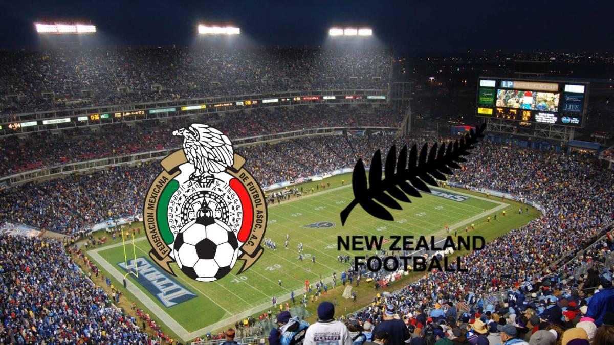 Paquete Mexico VS Nueva Zelanda mexicovsnz